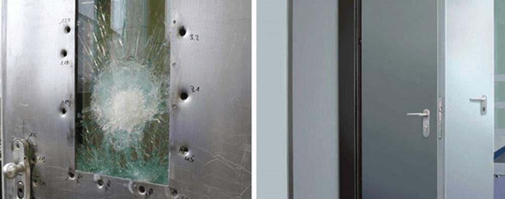 Kurşun Geçirmez Güvenlik Kapıları