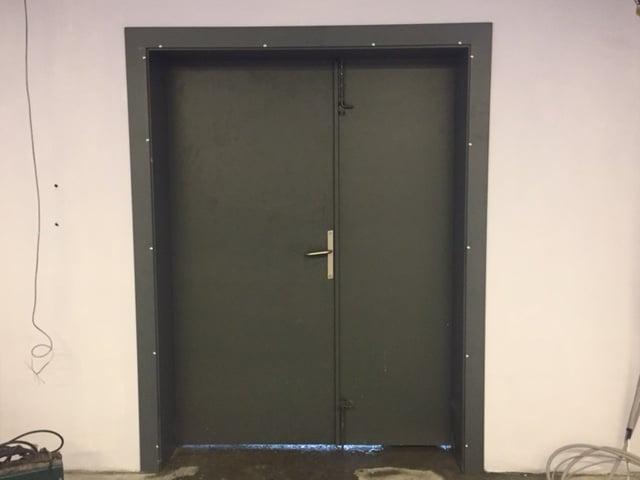 Kurşun Geçirmez Çelik Kapı