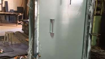 Burglary and Vandalism Resistant Doors